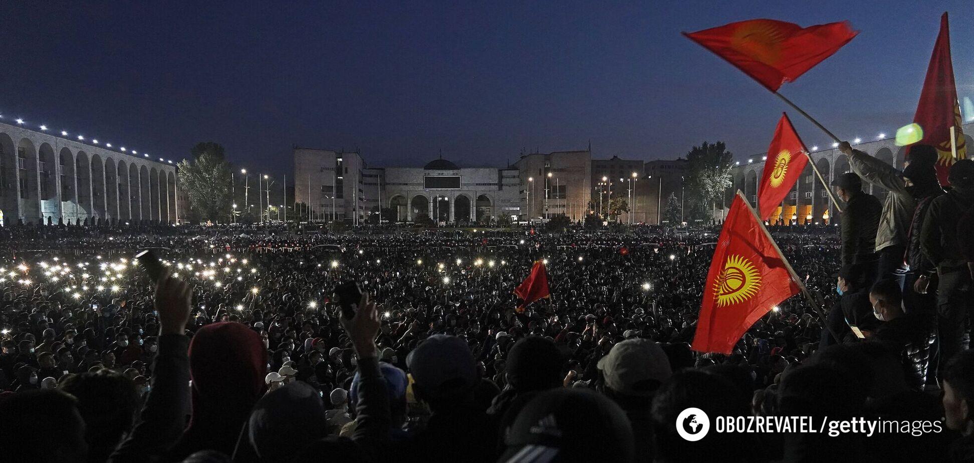 Протести в Бішкеку (Киргизстан)