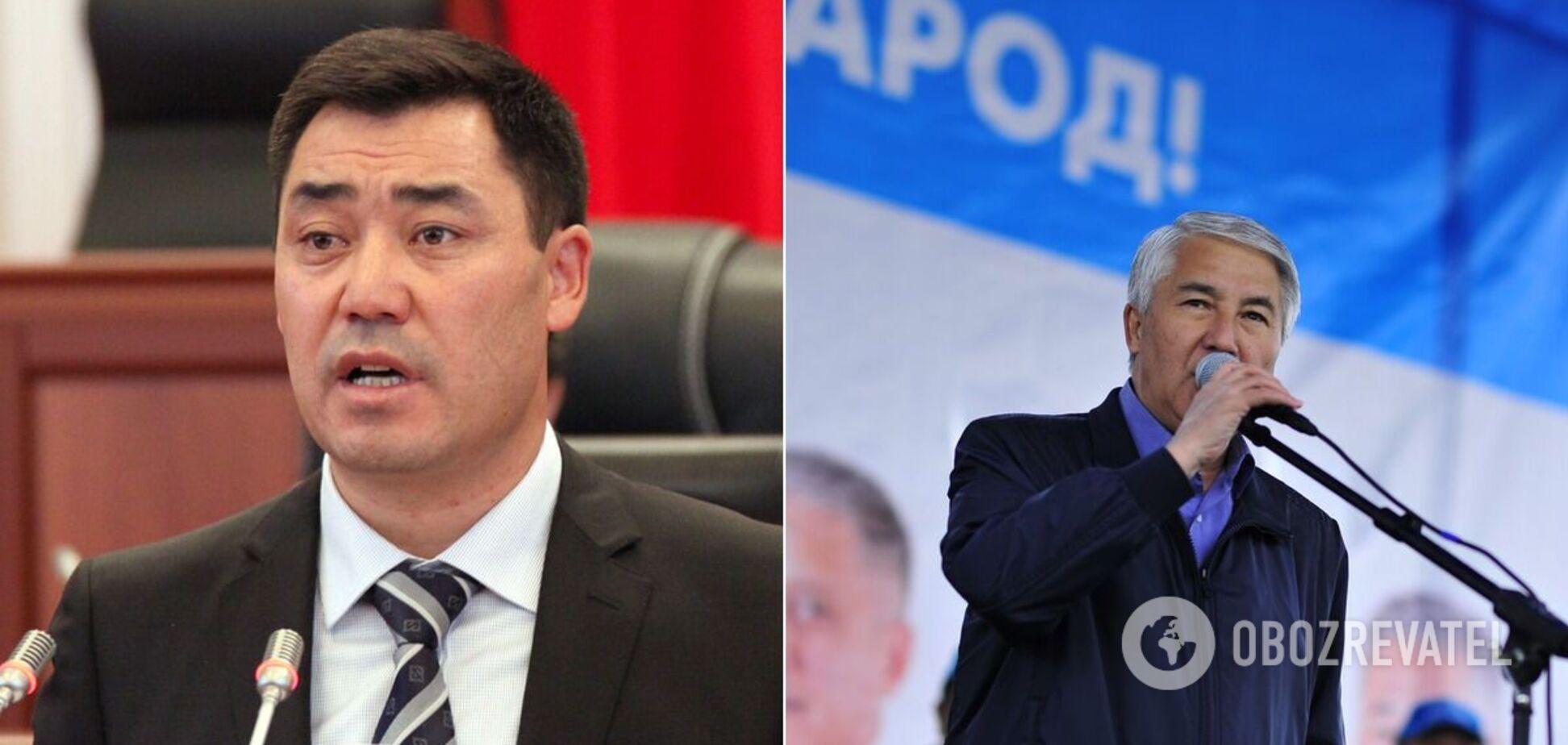 Садир Жапаров і Миктибек Абдилдаєв