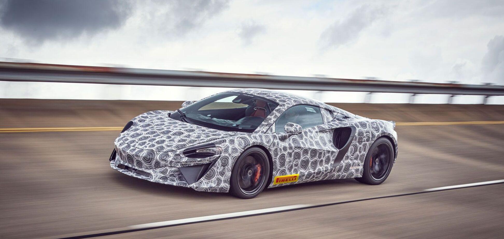 McLaren проводит дорожные тесты гибридного суперкара