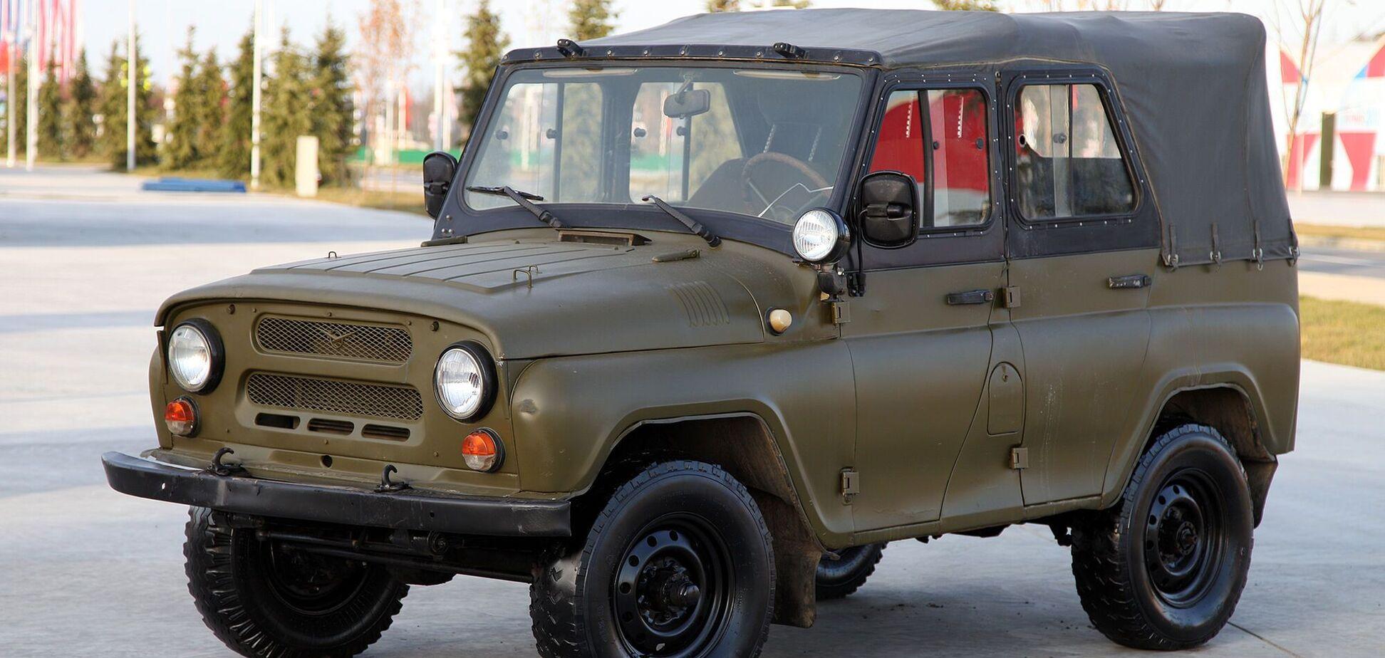 В Італії виставили на продаж рідкісний УАЗ із двигуном 'Пежо'