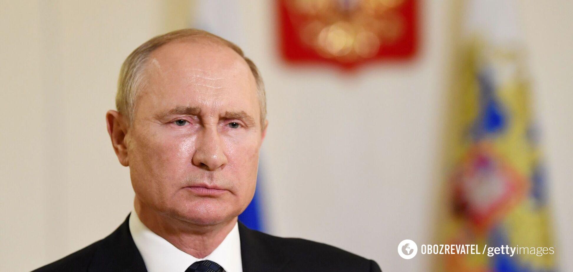 Путін розповів про щеплення серед свого оточення