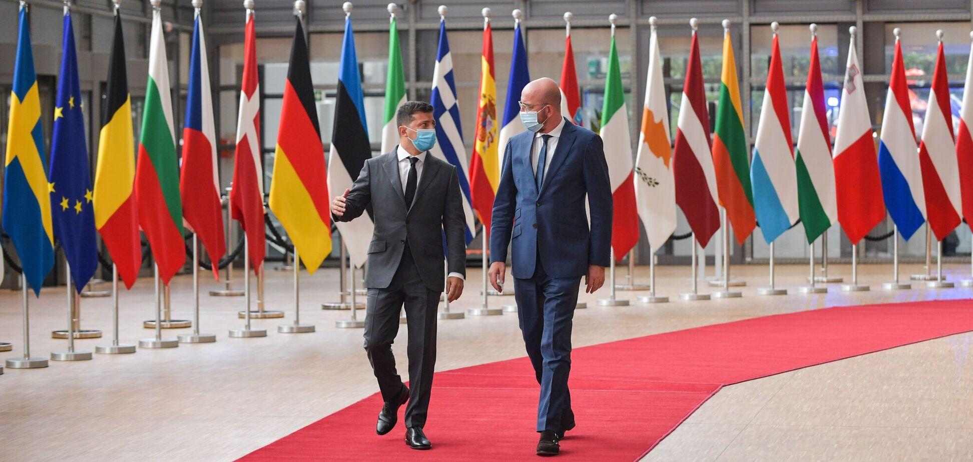 В Брюсселе начинается 22-й саммит Украина-ЕС