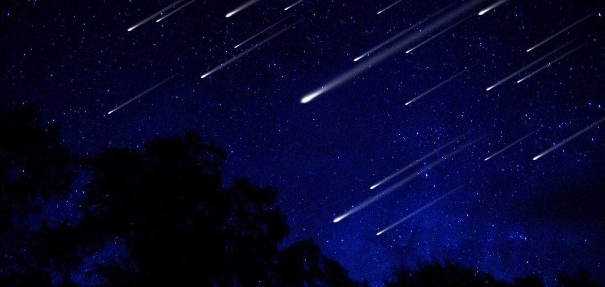 Украинцы смогут наблюдать три метеоритных потока в октябре: названы даты