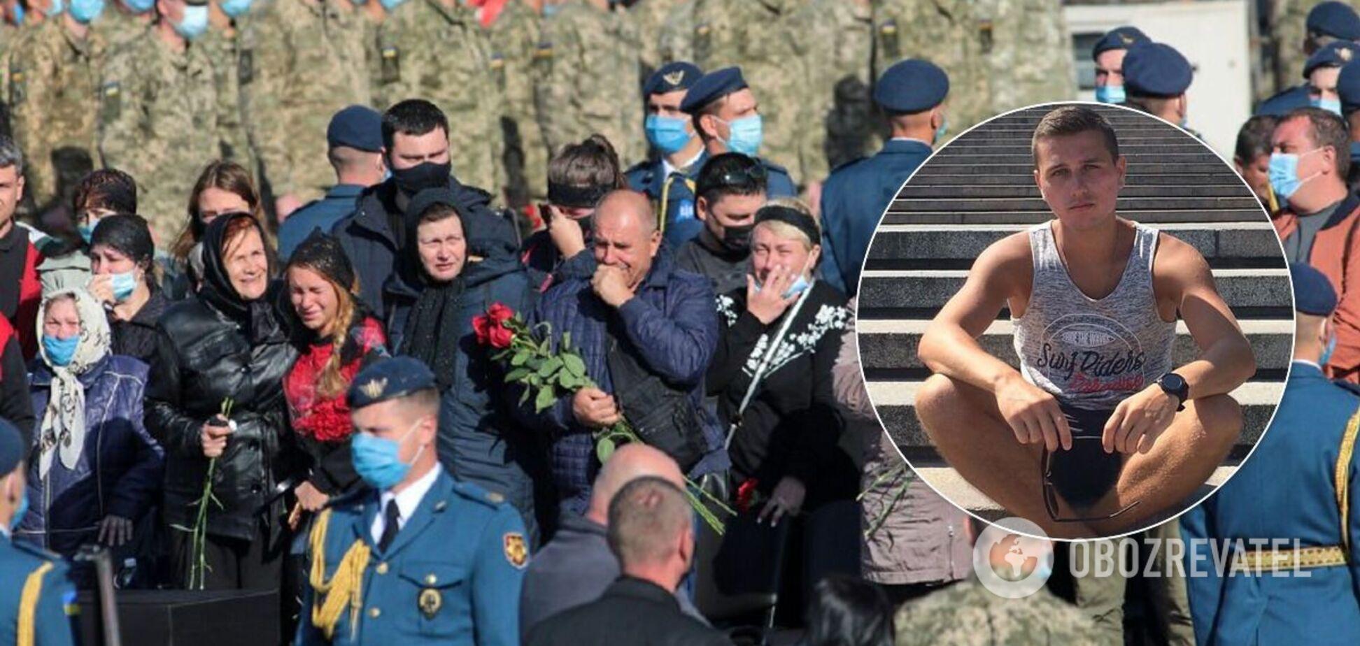 В катастрофе Ан-26 погиб Дмитрий Студинский с Житомирщины