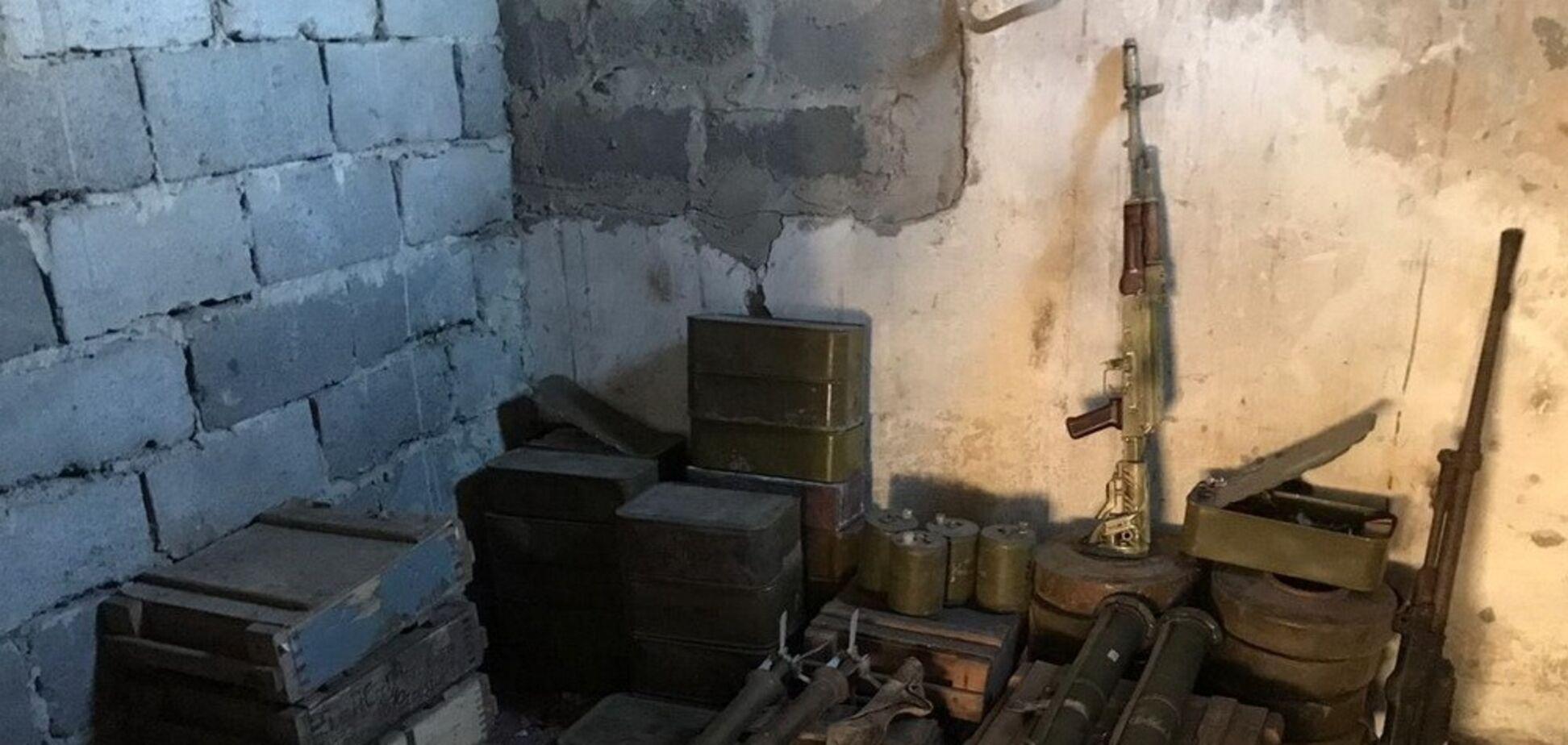 СБУ отчиталась о количестве найденного оружия