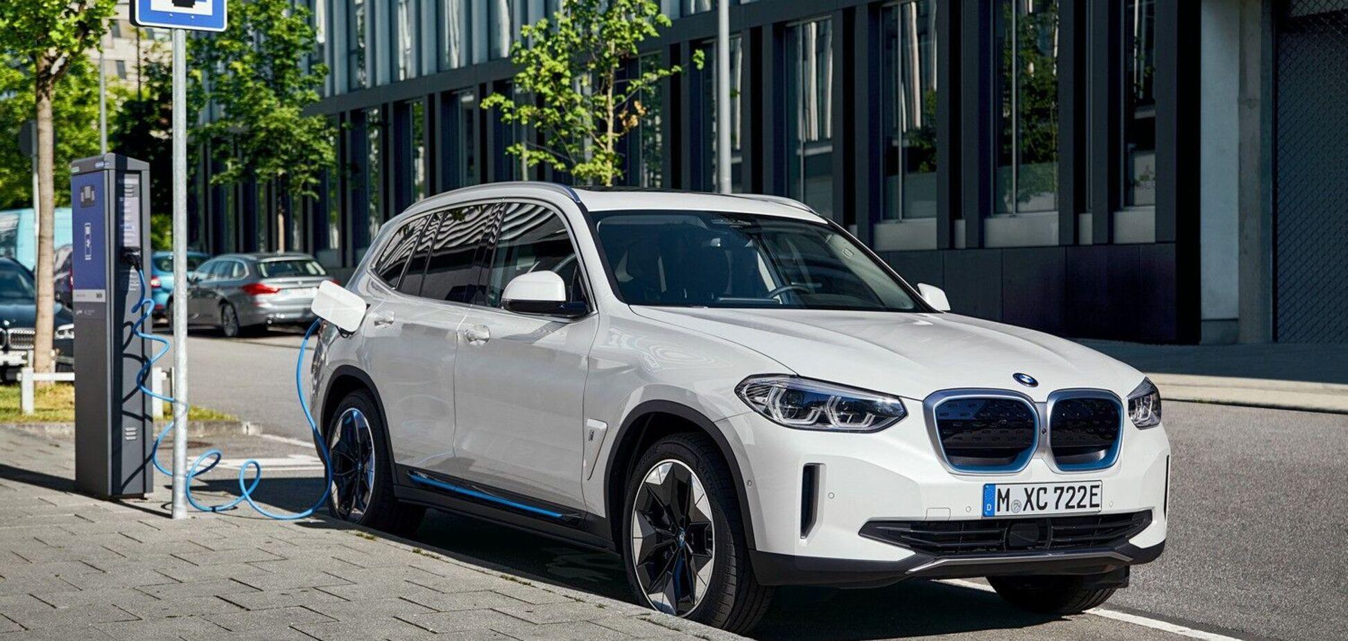 Первый китайский электрокроссовер BMW сошел с конвейера