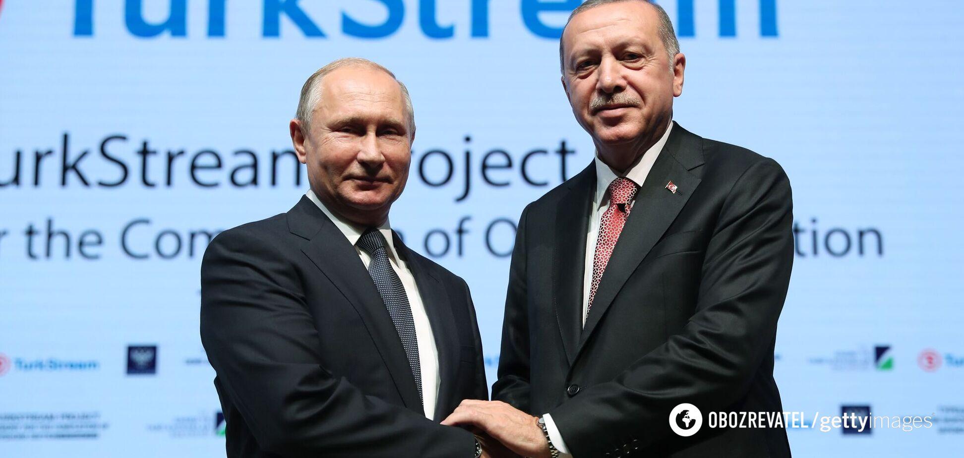 'Газпром' визнав зрив термінів будівництва 'Турецького потоку'