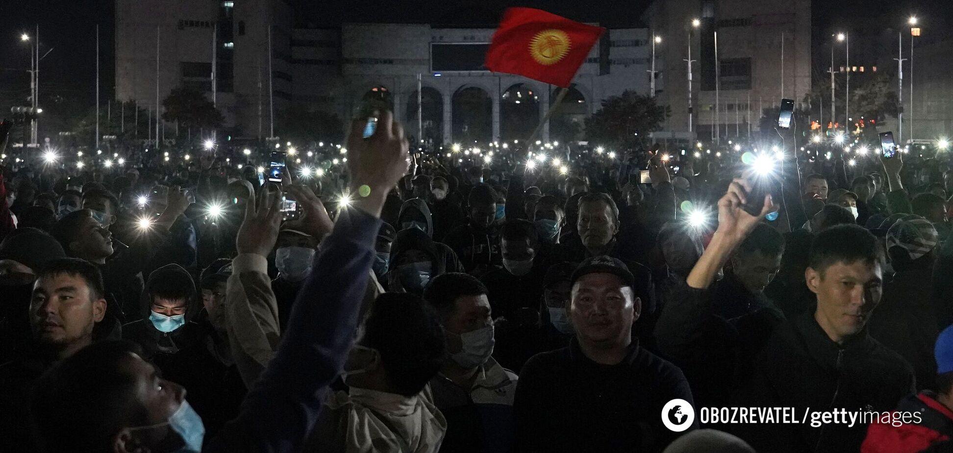 'Майдан' у Киргизстані