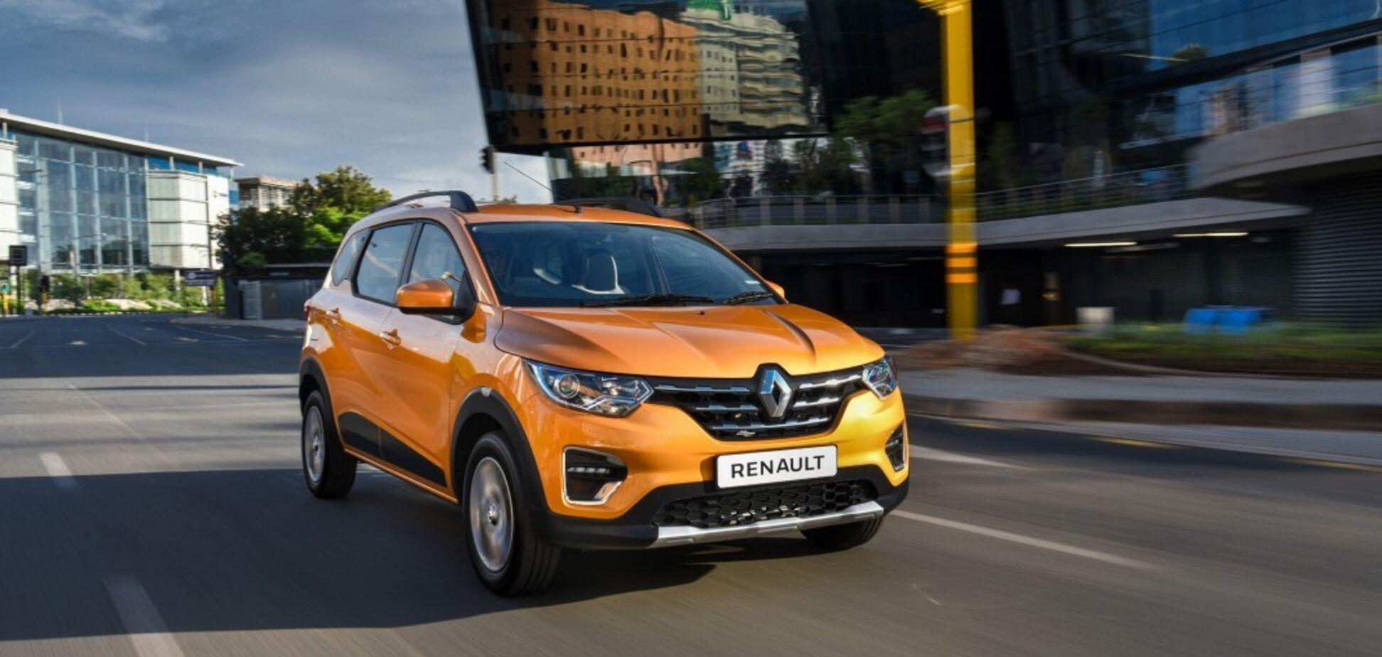 Кроссовер Renault Kiger за $7500 показали на живых фото