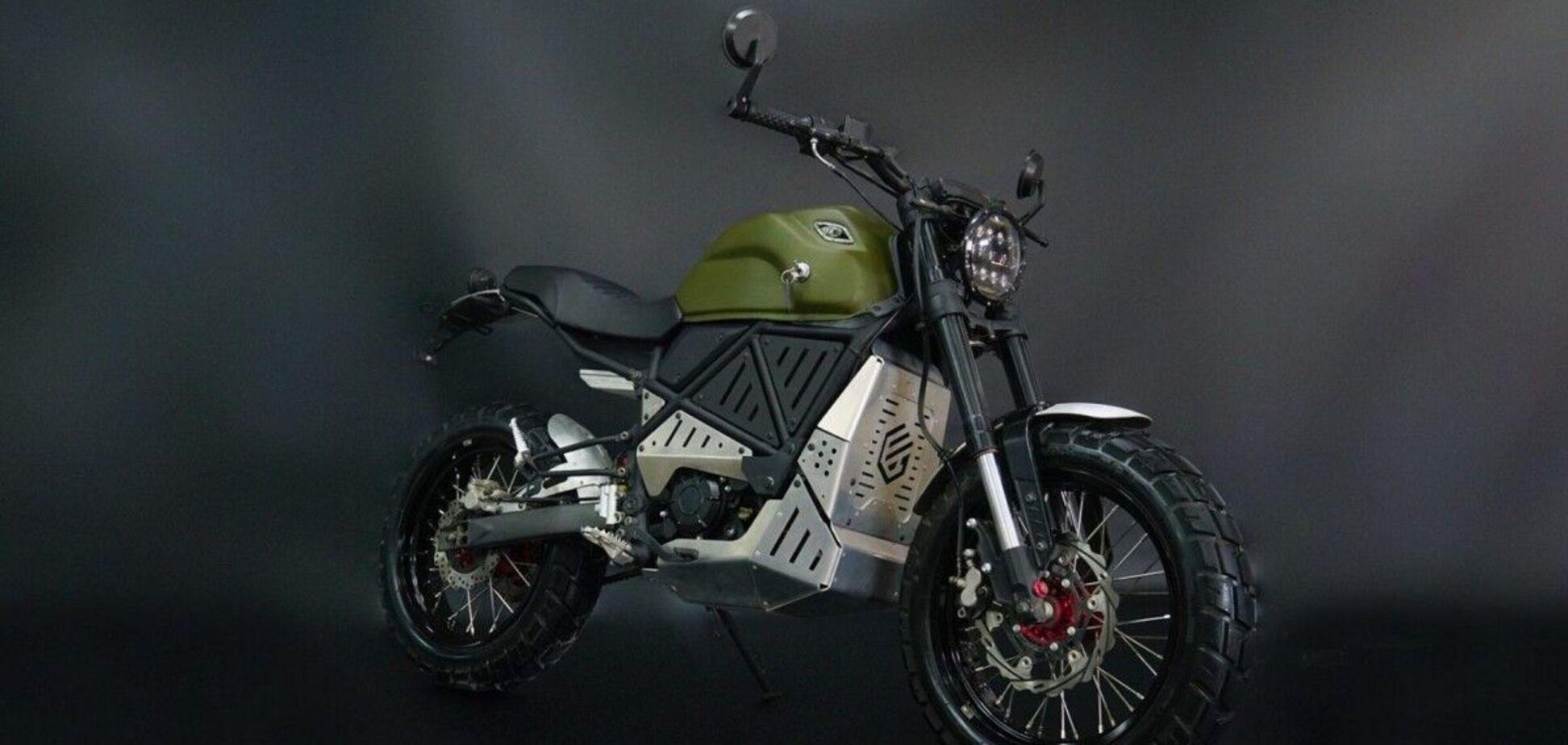 В Україні налагодили виробництво сучасних електричних мотоциклів