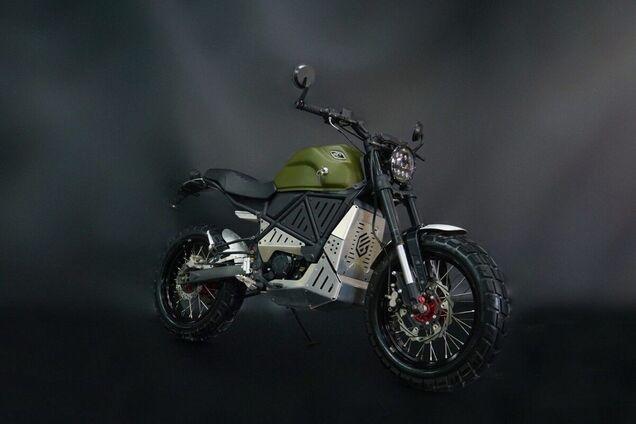 В Украине наладили производство современных электрических мотоциклов
