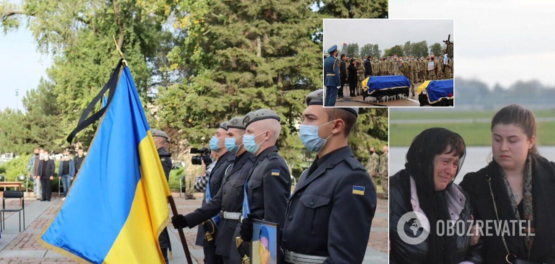 Украина в трауре из-за гибели курсантов с Ан-26