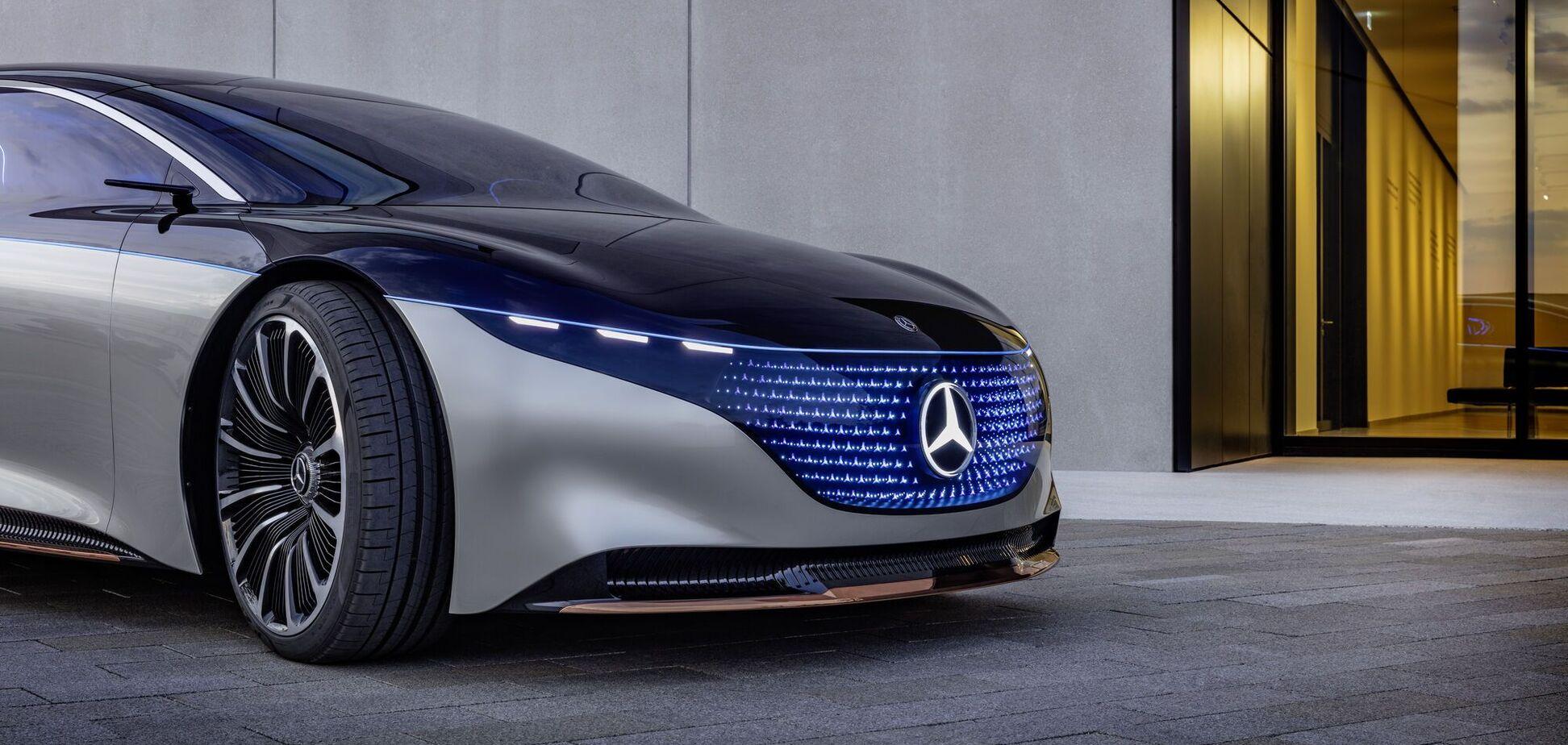 Электромобиль Mercedes-Benz сможет проехать свыше 1200 км