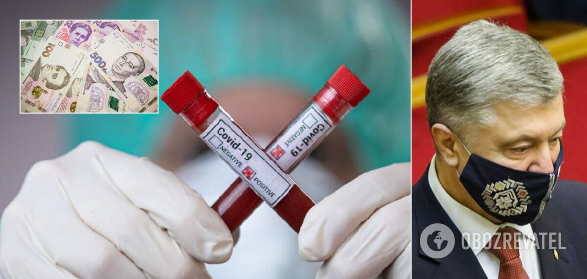 У Порошенко обратились в НАБУ из-за хищений коронавирусного фонда