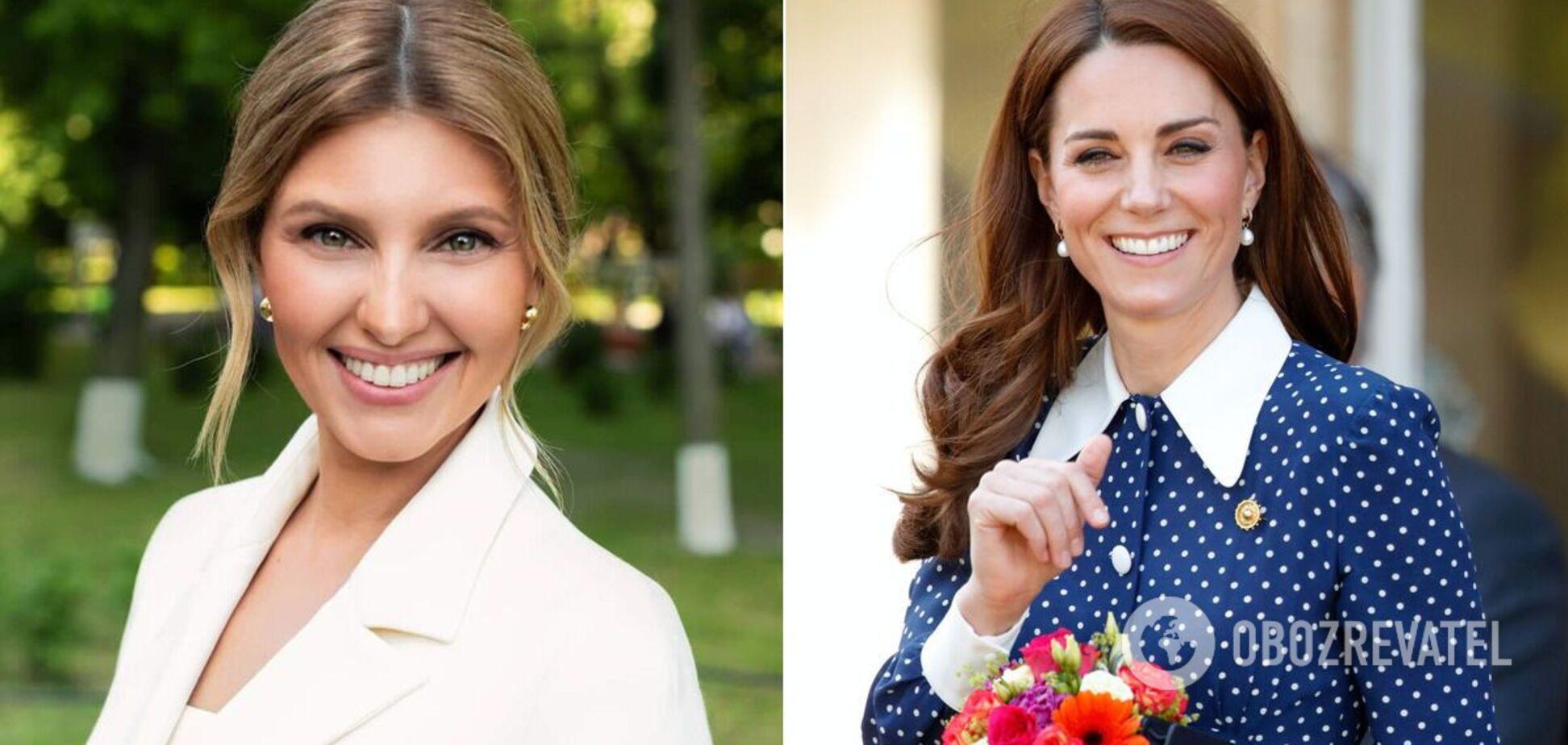 Зеленська зустрілася з Кейт Міддлтон під час офіційного візиту до Великої Британії