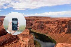У США турист зірвався зі скелі, роблячи знімки на каньйоні в Арізоні