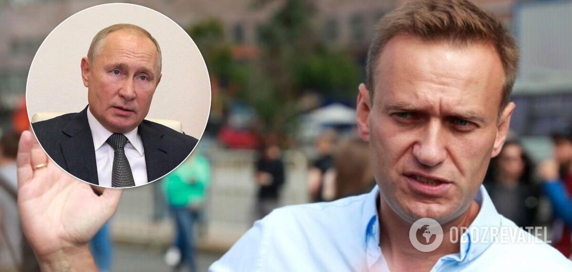 Навальний у першому відеозверненні після коми звинуватив Путіна в отруєнні 'Новачком'