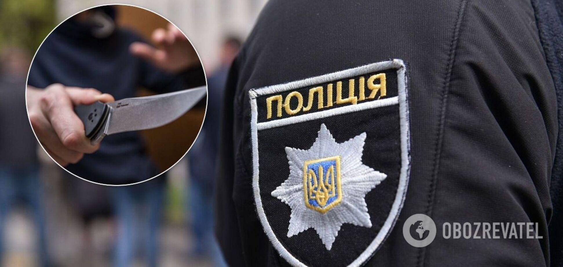 Під Дніпром 18-річний хлопець вдарив поліцейського ножем