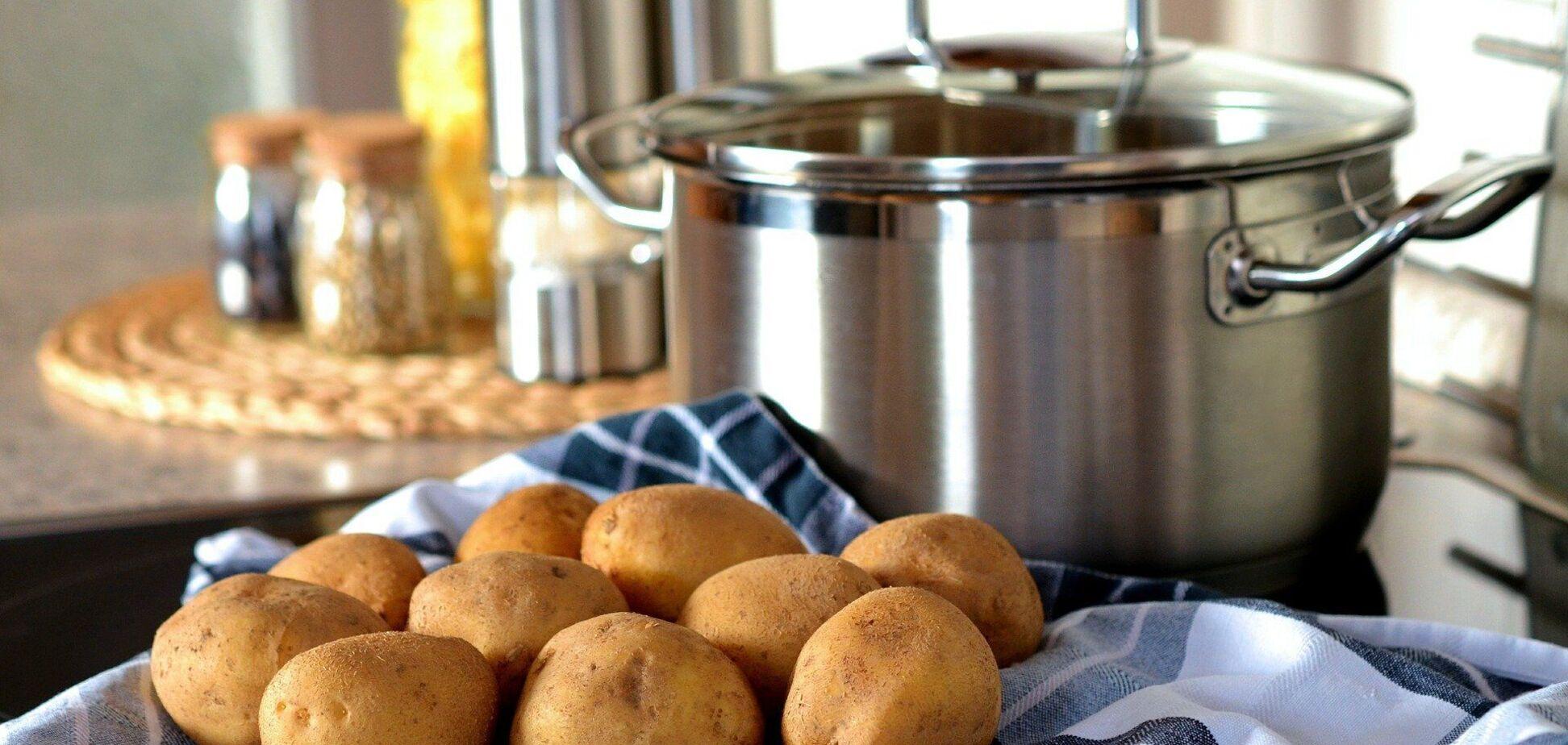 Названа головна помилка при приготування картоплі