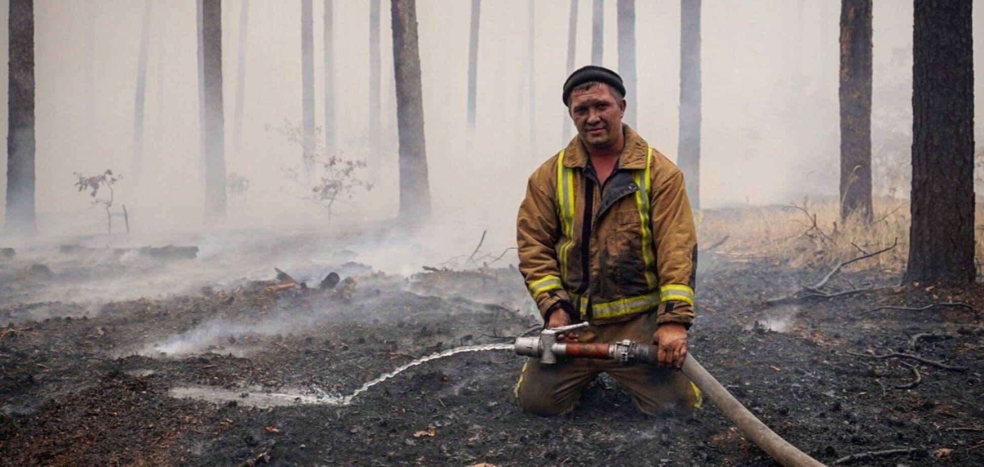Пожары в Луганской ликвидированы