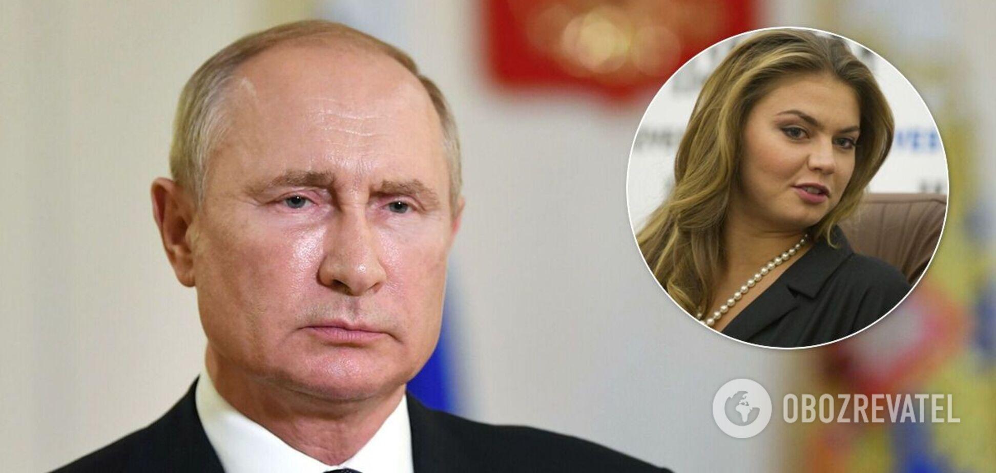 О романе Путина и Кабаевой начали писать еще в 2006 году