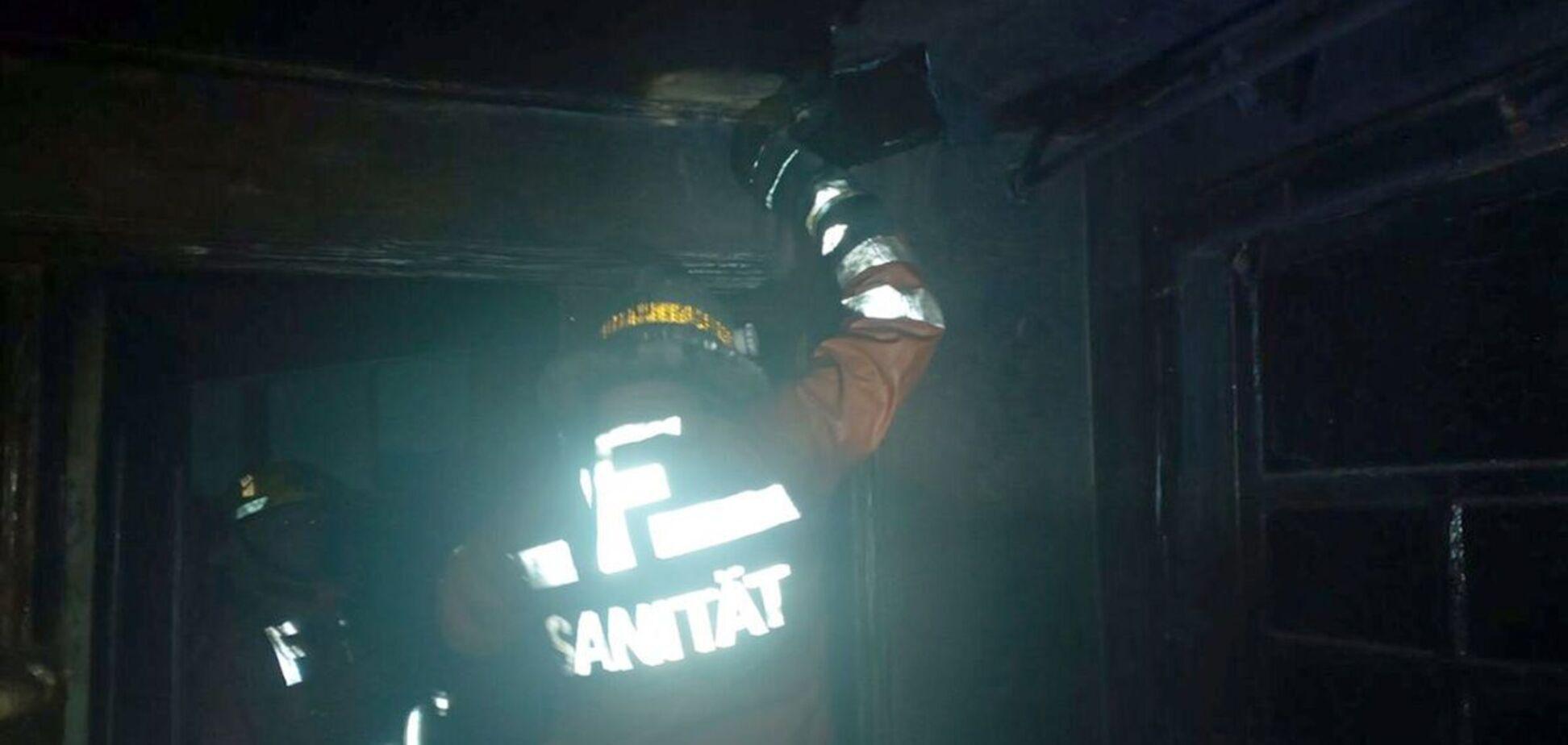 Под Днепром во время пожара погиб 92-летний мужчина. Фото с места ЧП