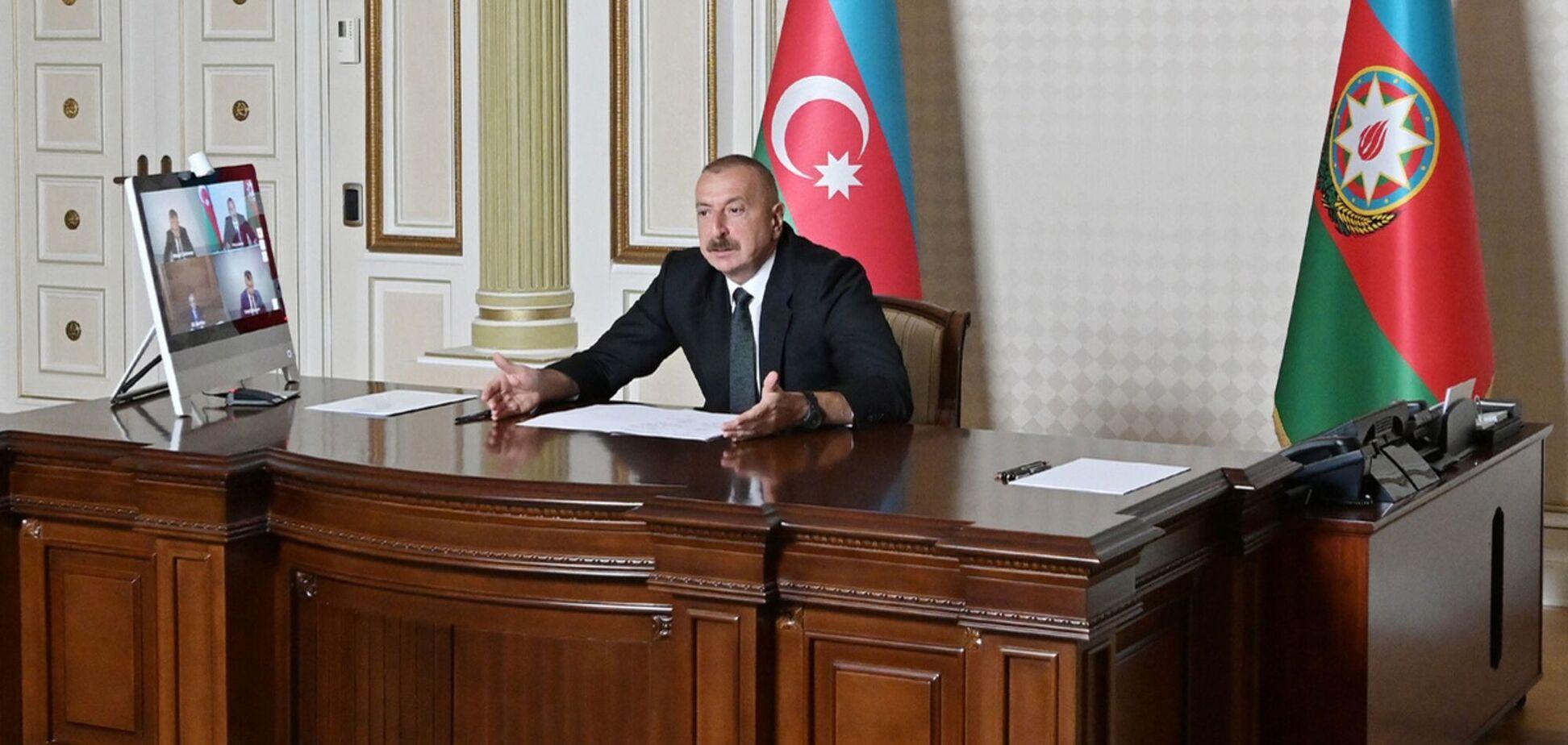 Алиев обратился к нации