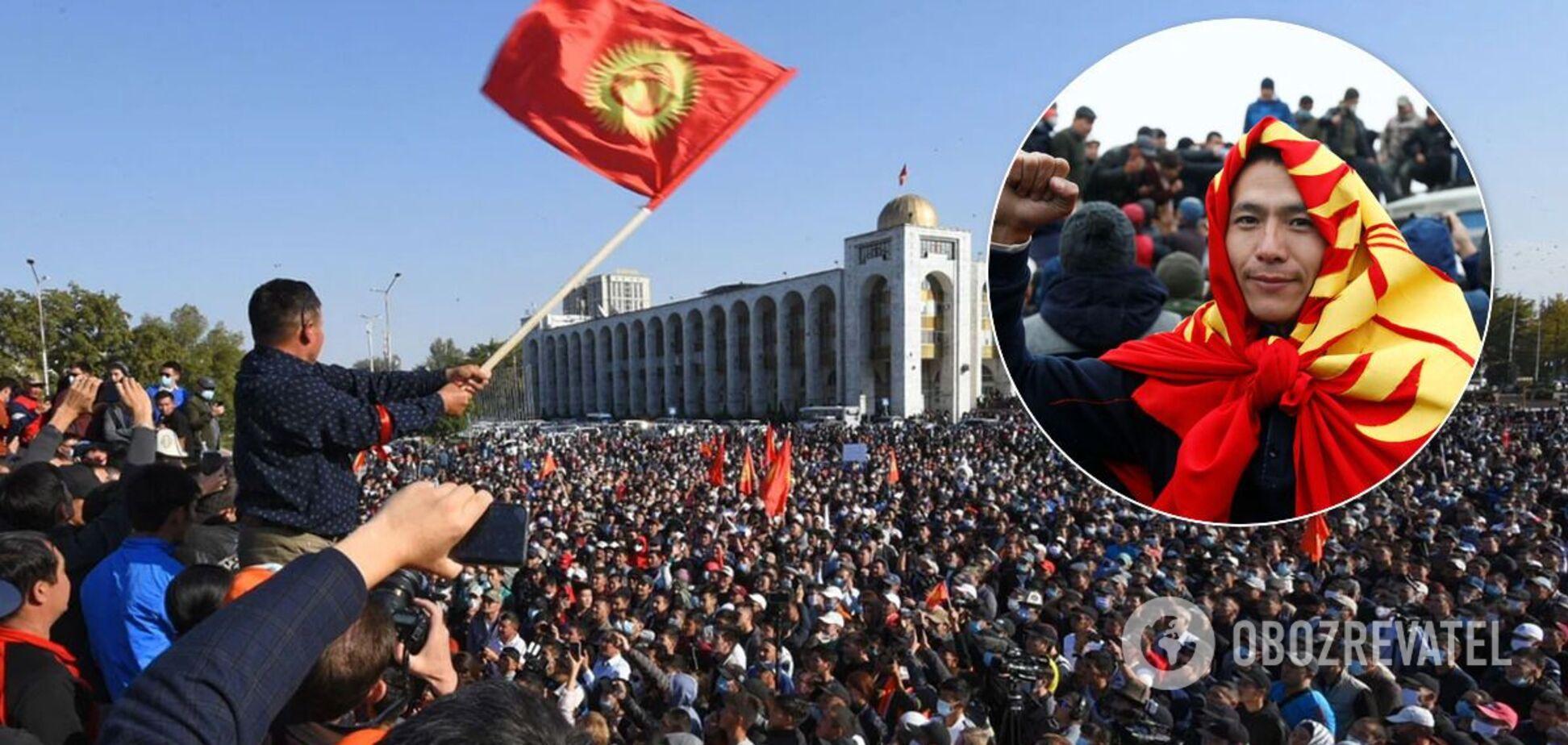 Протести в Киргизстані після виборів