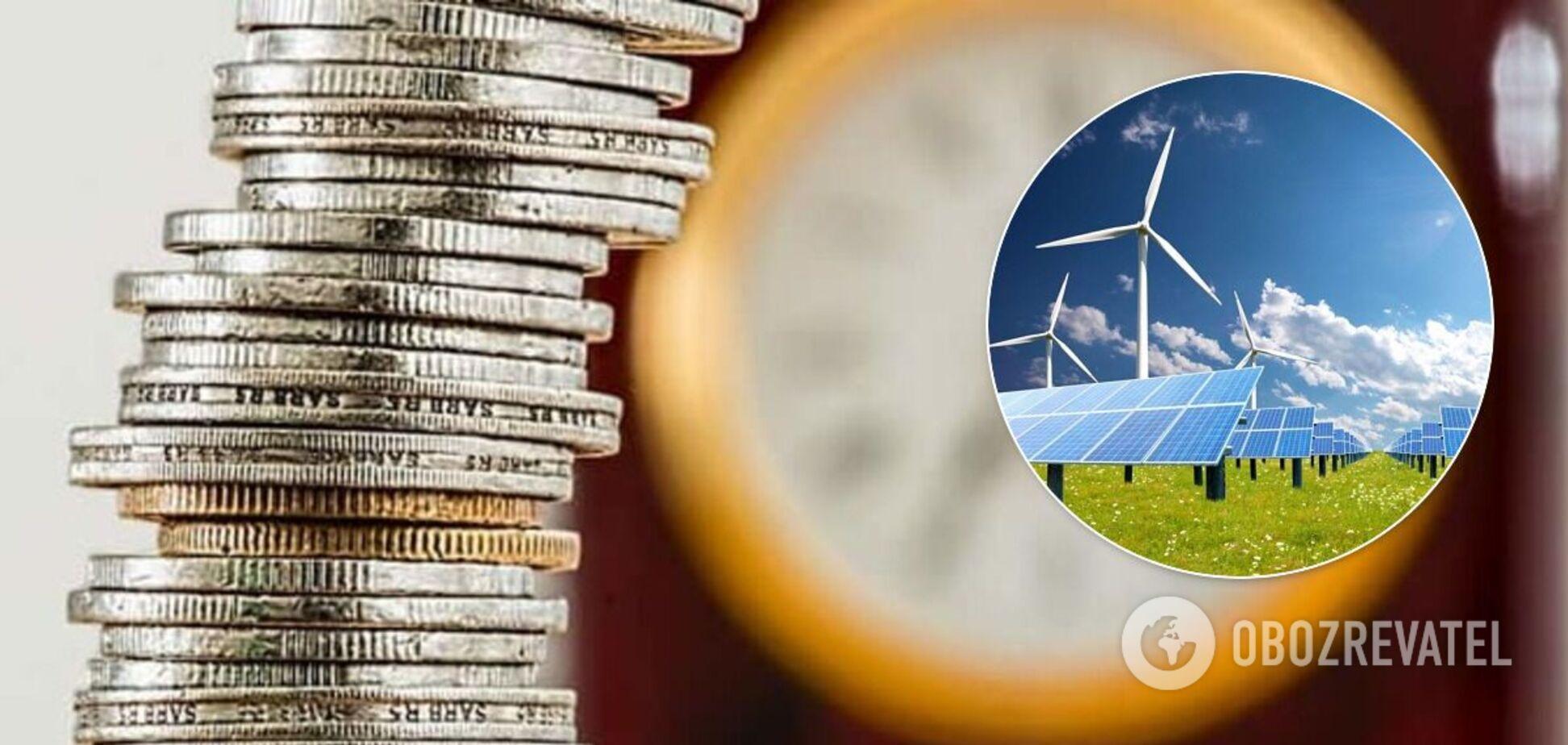 Банковская система Украины может быть разрушена из-за долгов перед зеленой энергетикой