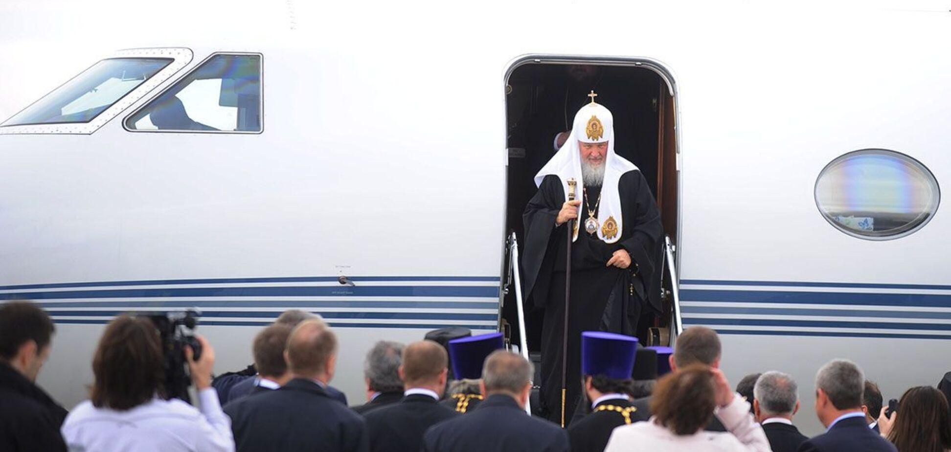Патріарх Кирило вирішив продати свій літак