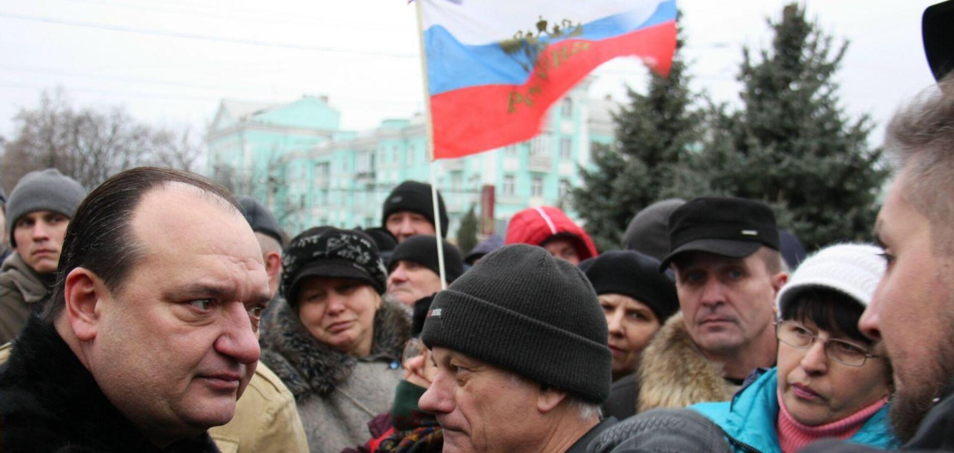 Володимир Струк у 2014 році підтримував російських окупантів Донбасу
