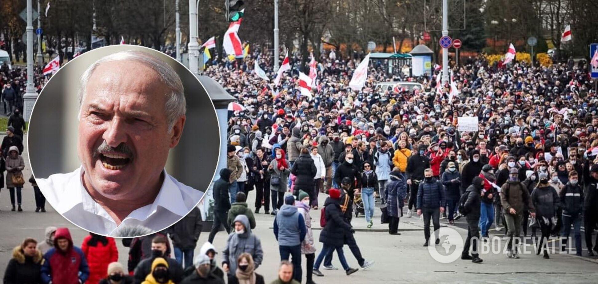В Беларуси начался Марш против террора