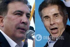 У политсилы Саакашвили вдвое меньше голосов, чем у партии Иванишвили