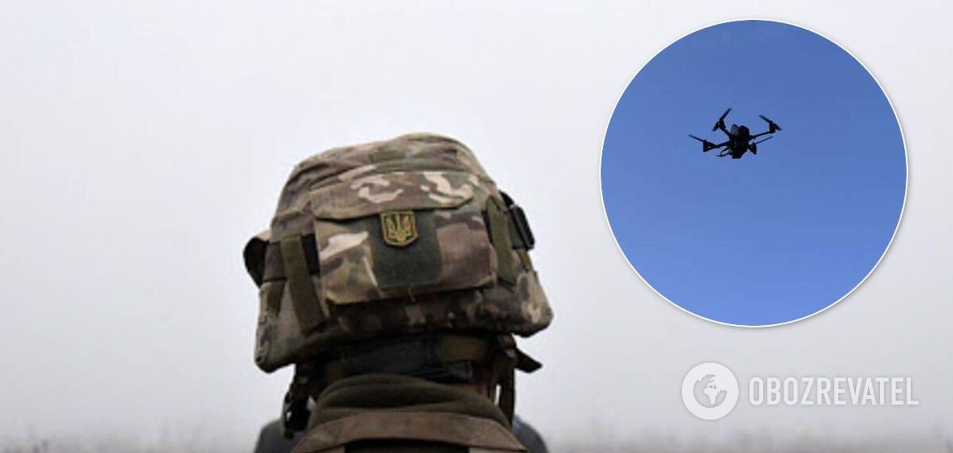 На Донбасі зафіксовано проліт ворожого безпілотника