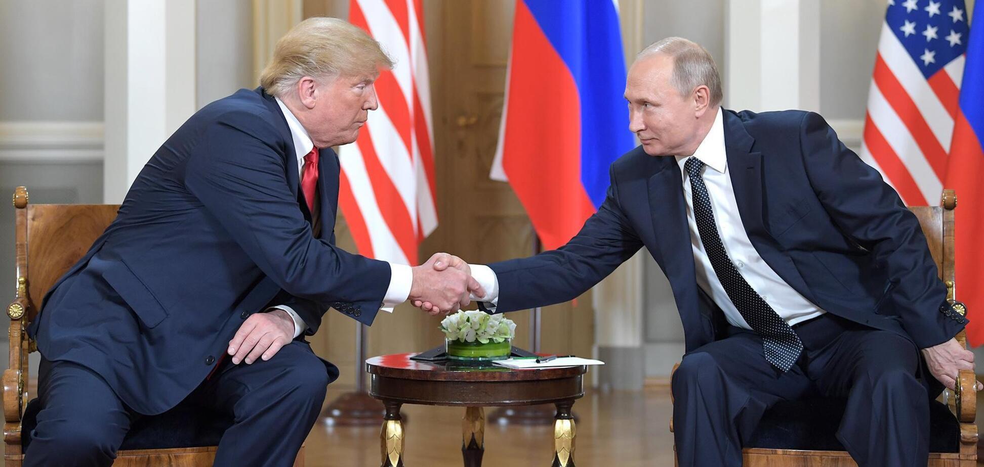 Встреча президента США Дональда Трампа и президента России Владимира Путина в Хельсинки