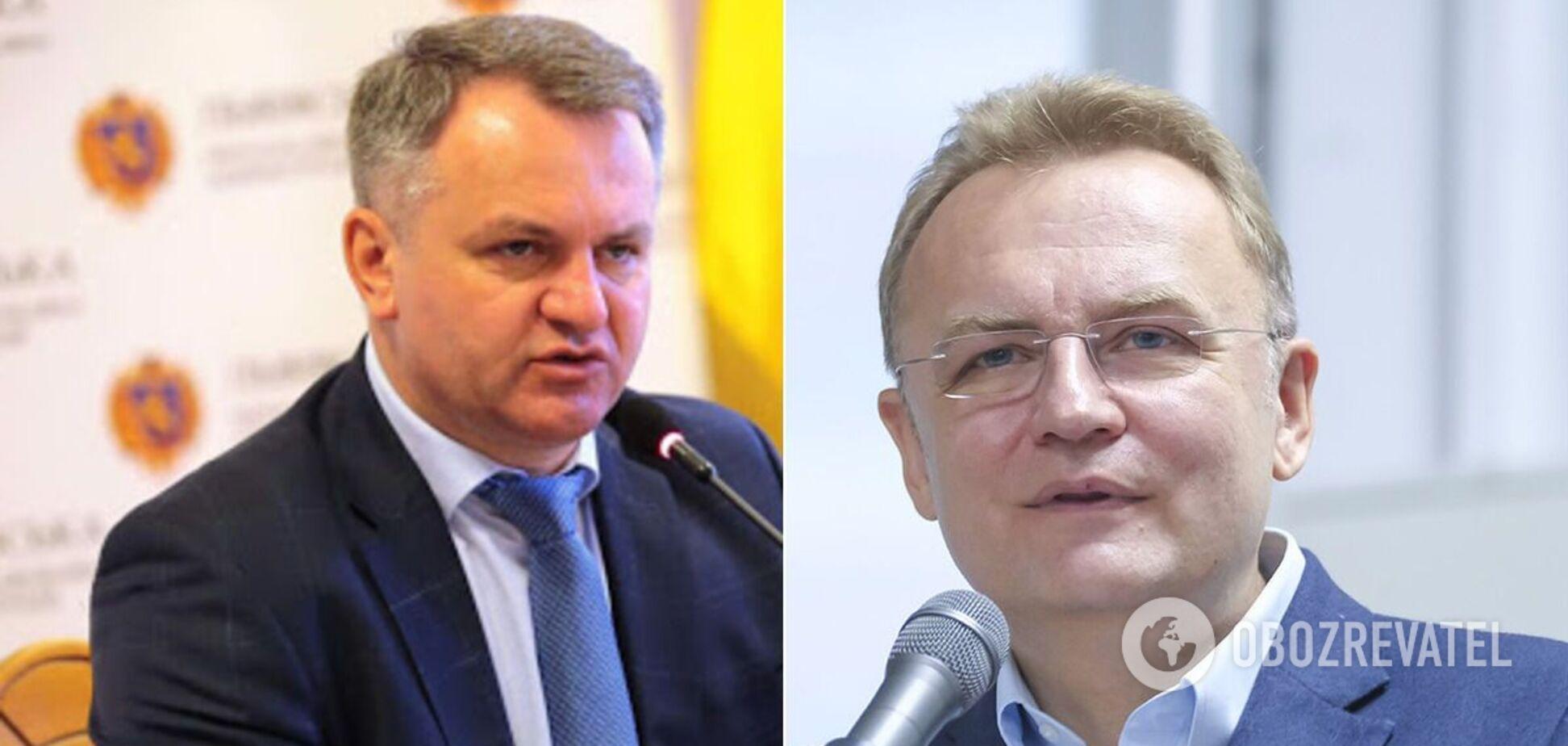 Олег Синютка и Андрей Садовый прошли во второй тур во Львове