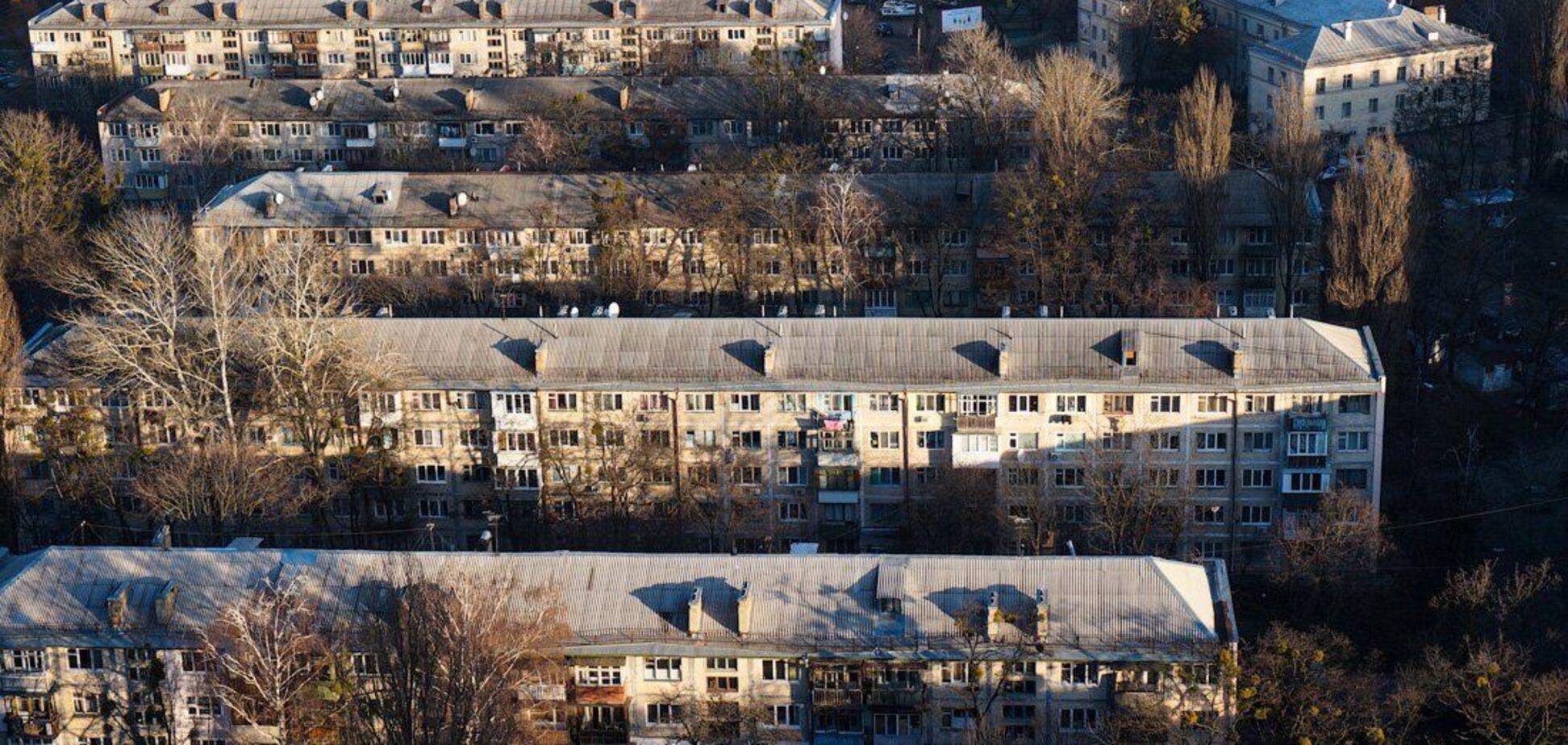 Хрущевки в Киеве могут реконструировать без сноса – генплан