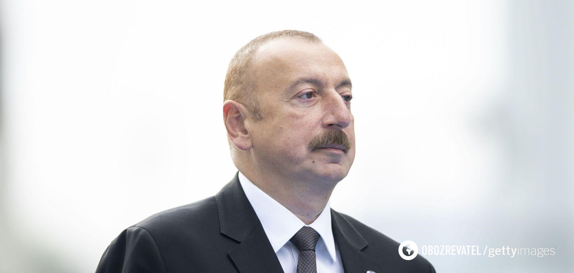 Алієв заявив, що в Карабасі будуть миротворці РФ і Туреччини