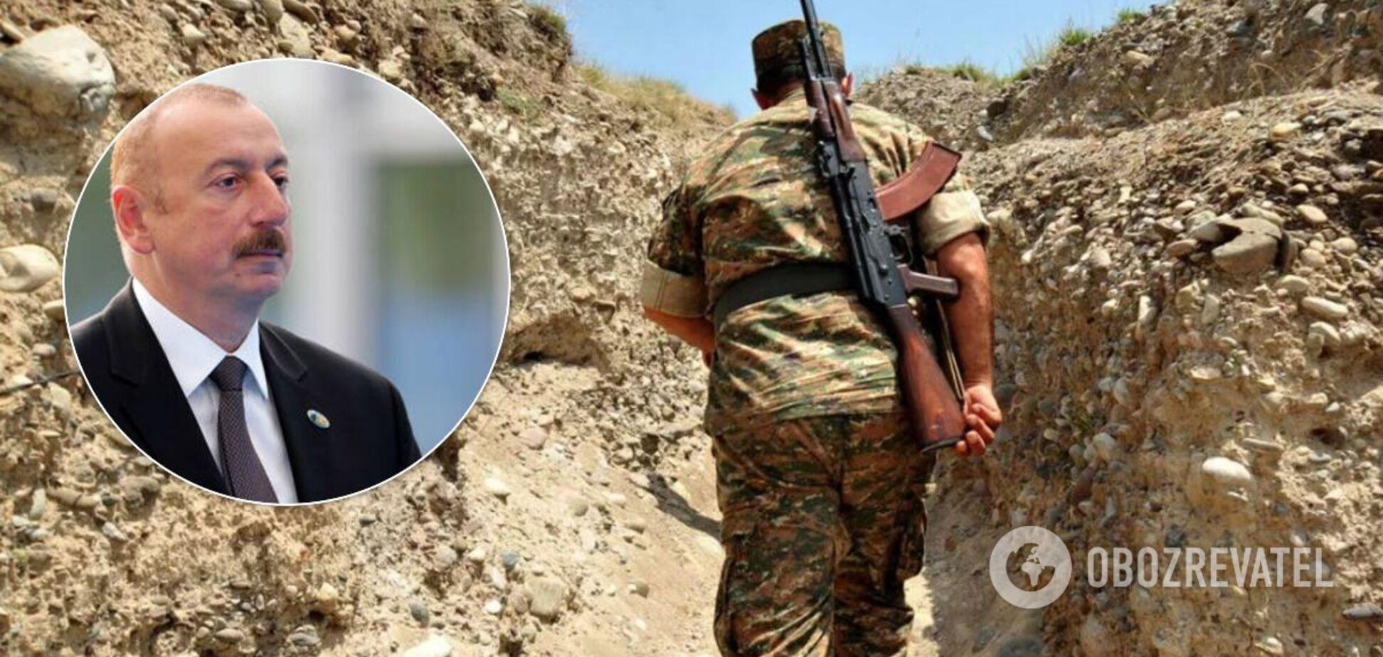 Алієв розповів про графік виведення вірменських військ