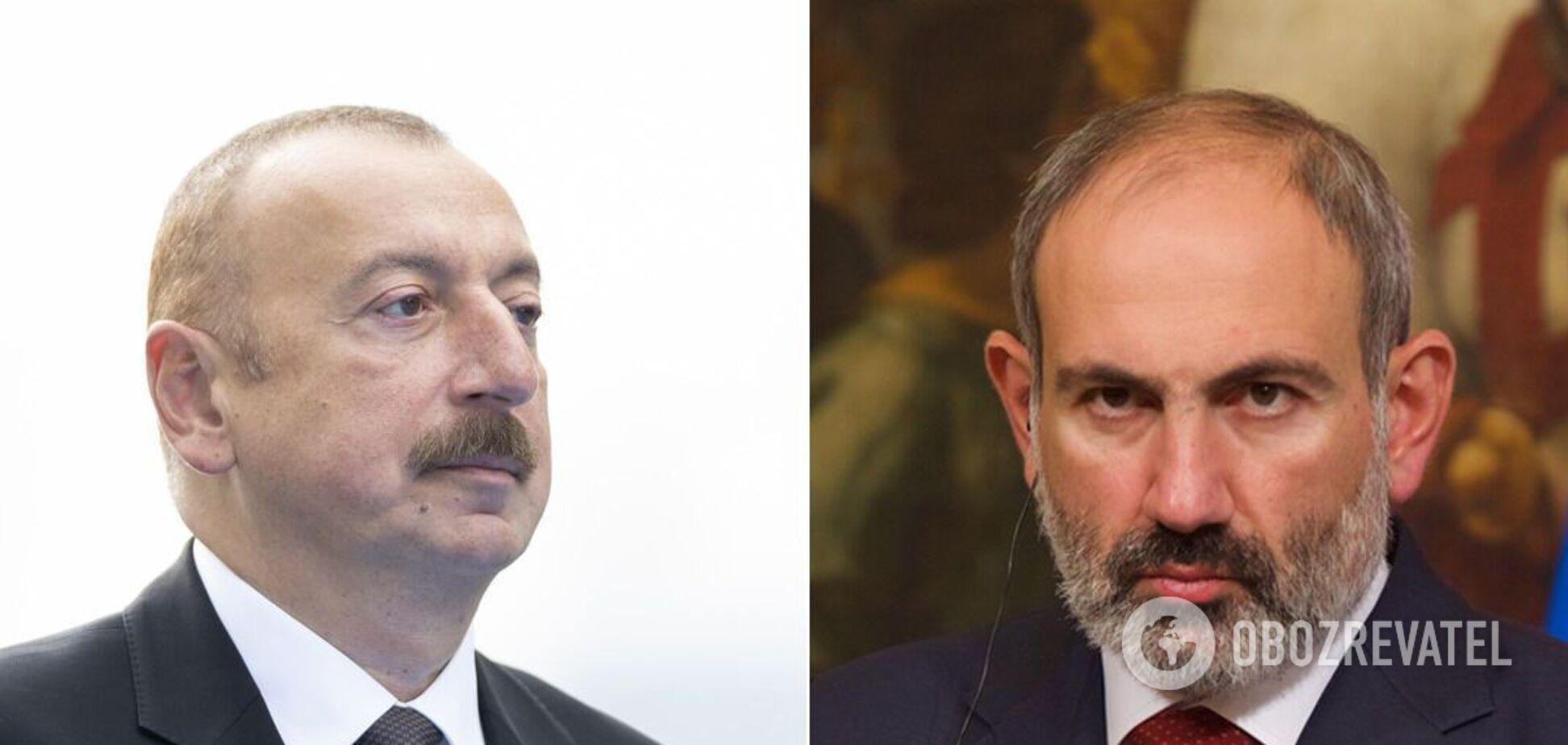 Пашинян і Алієв зробили заяви про припинення війни