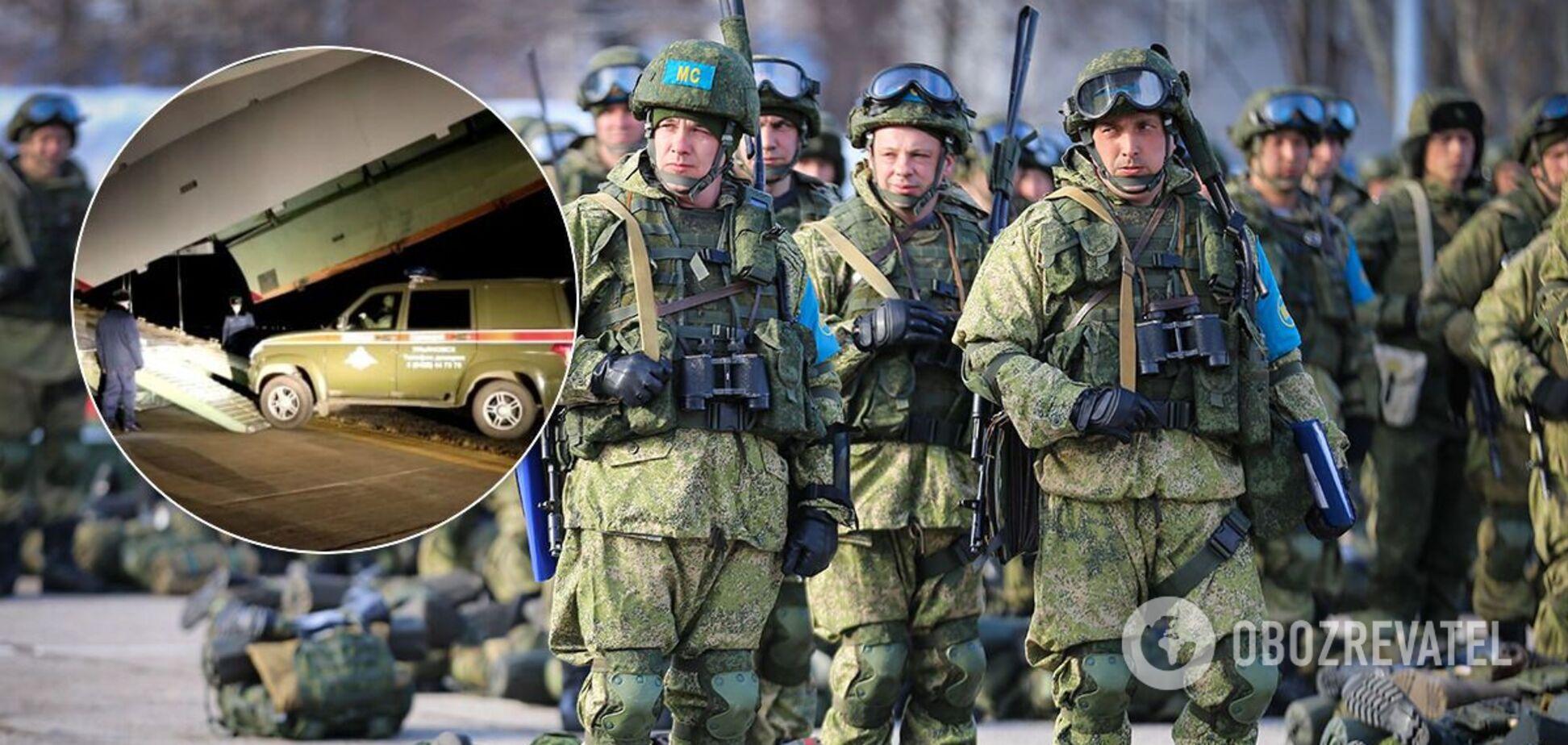 Переброска российских миротворцев в Карабах