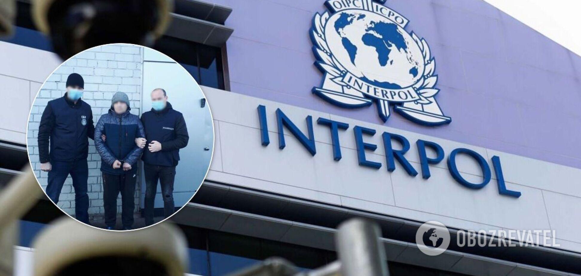 На Харківщині затримали іноземця з бази Інтерполу. Фото