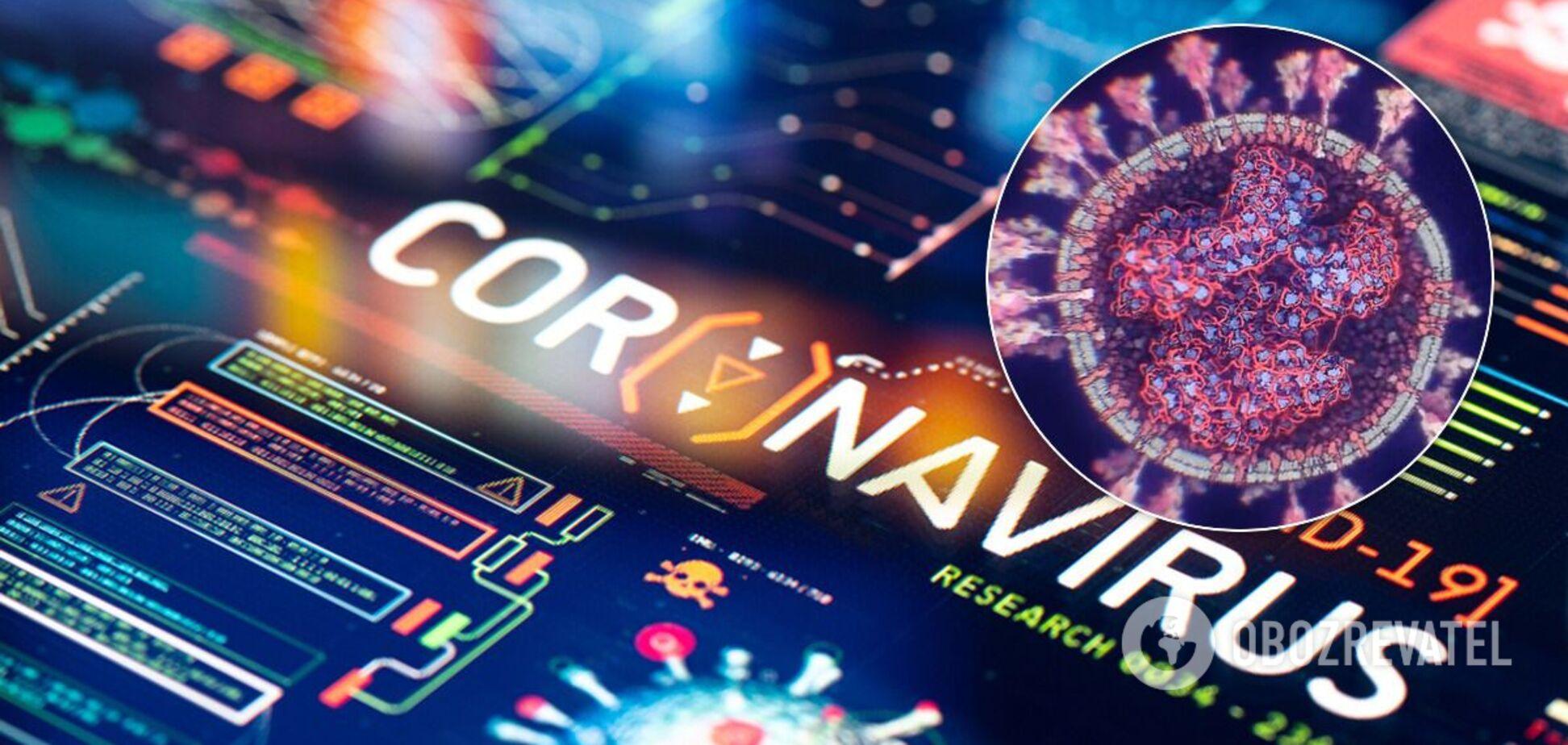 3D-модель коронавируса