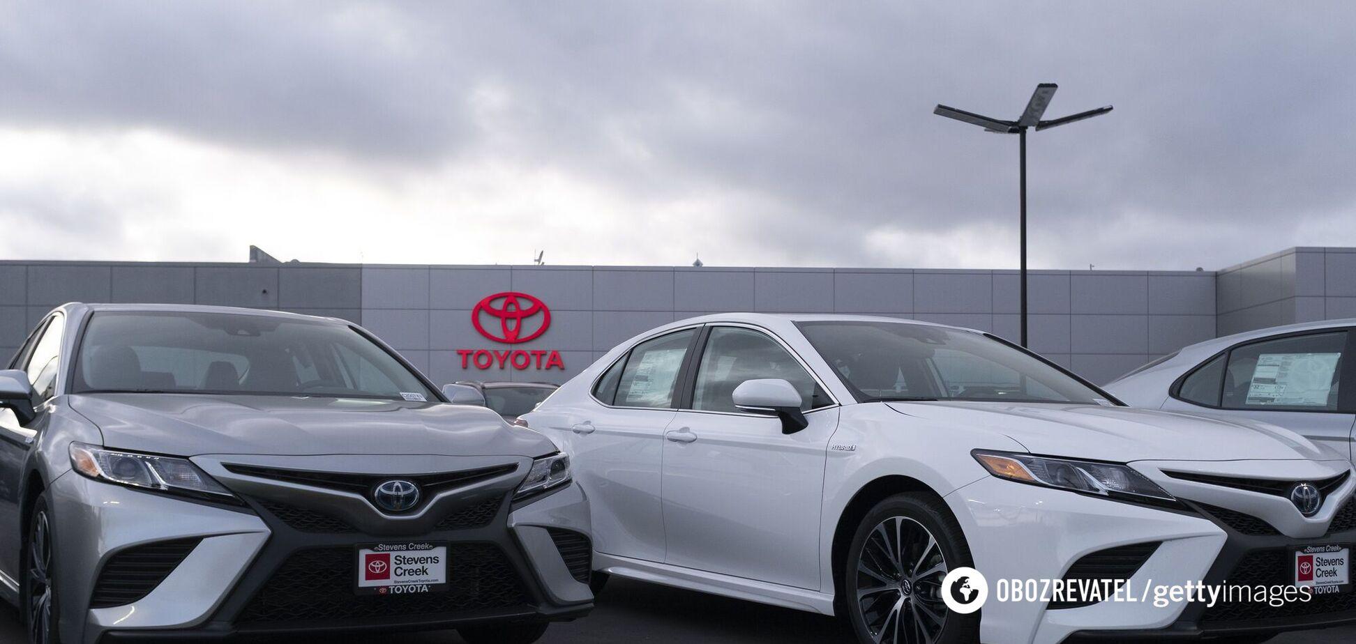 Рада закупила у россиянки Toyota на 12 млн грн