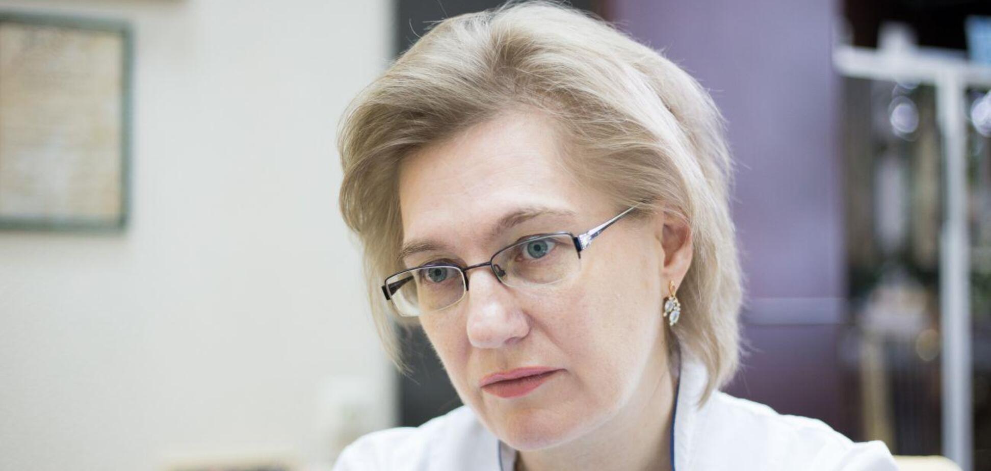 Інфекціоністка Ольга Голубовська