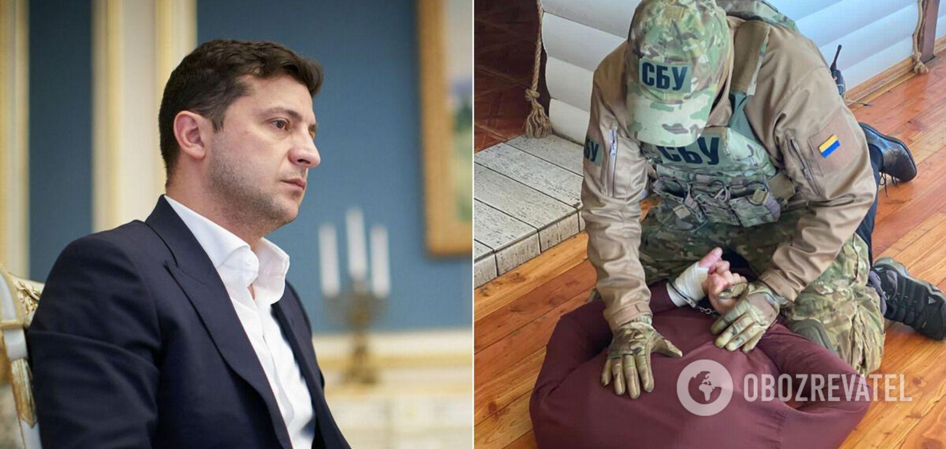 Главу ОТО на Закарпатье поймали на взятке: реакция Офиса президента