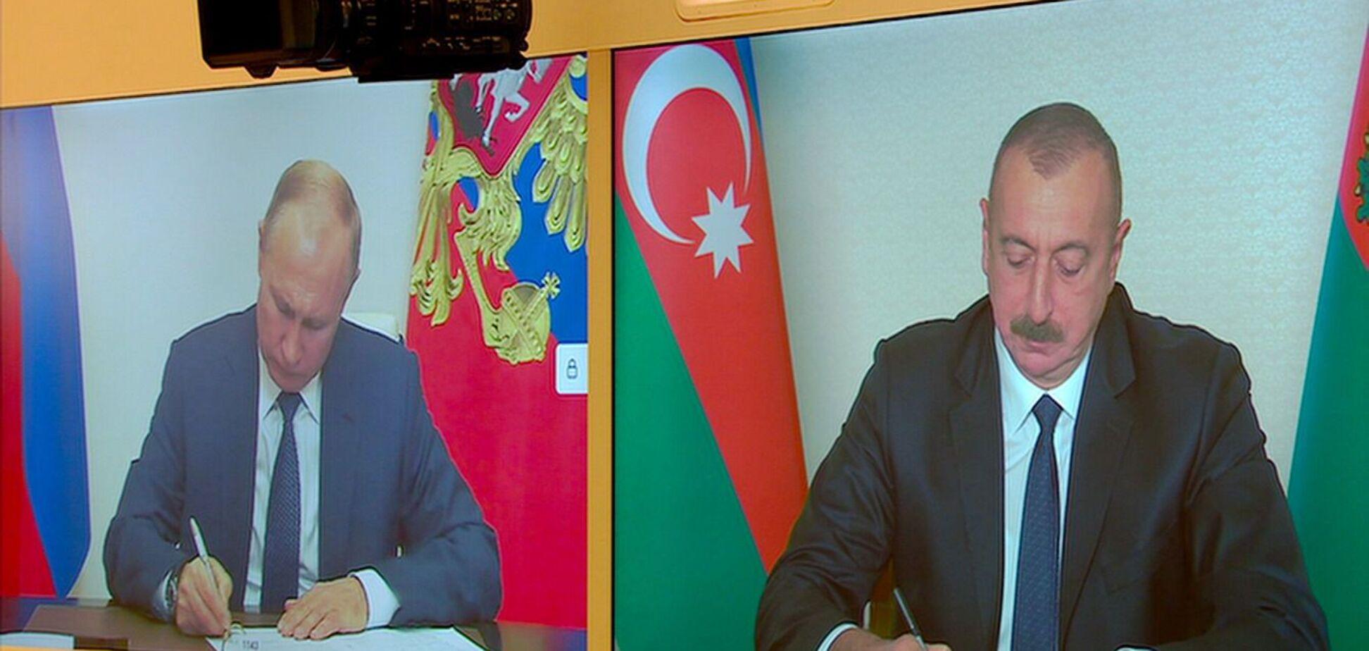 Азербайджан, Армения и Россия подписали соглашение