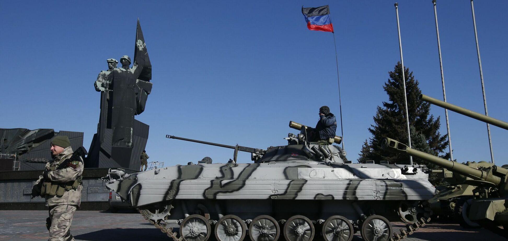 Российские войска на Донбассе