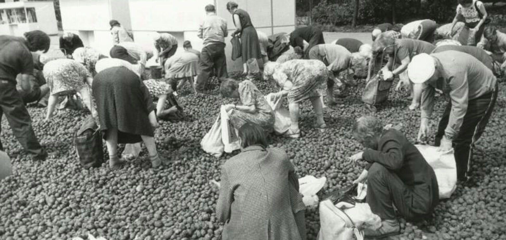 З чим залишилися люди після СРСР: фото