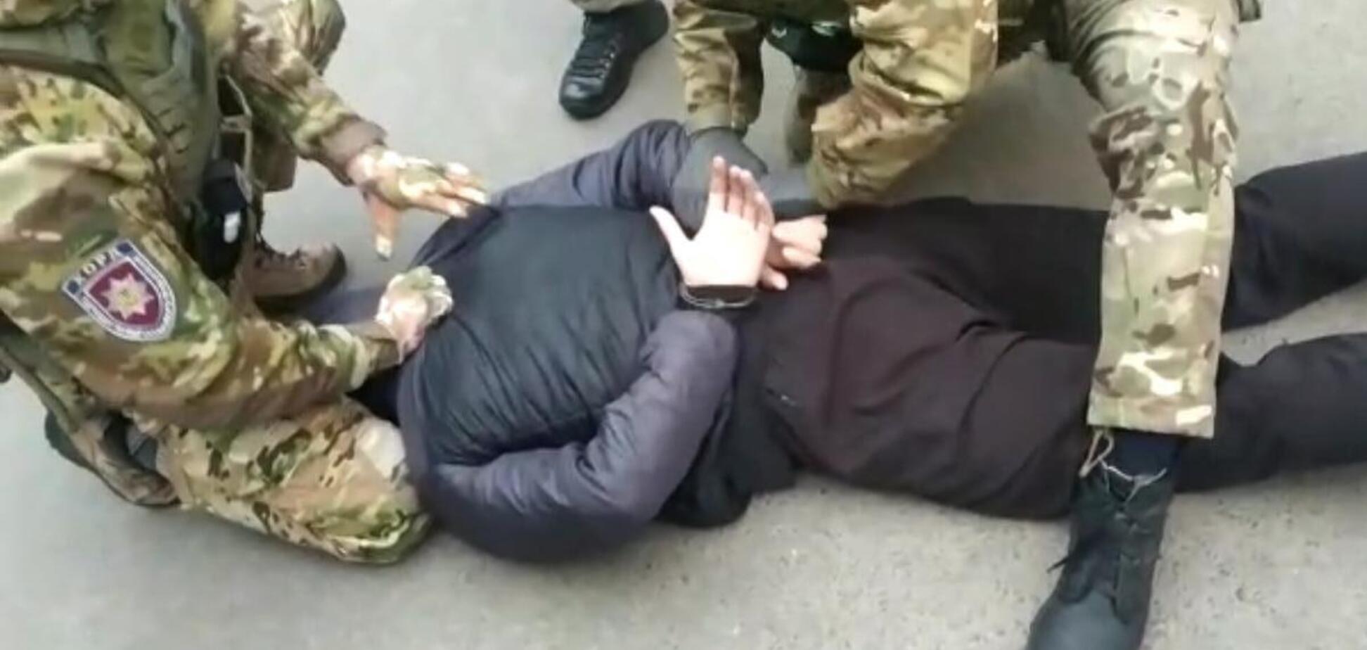 В Днепре задержали предполагаемого посредника в заказном убийстве